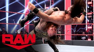 Aleister Black vs. Seth Rollins: Raw, June 1, 2020