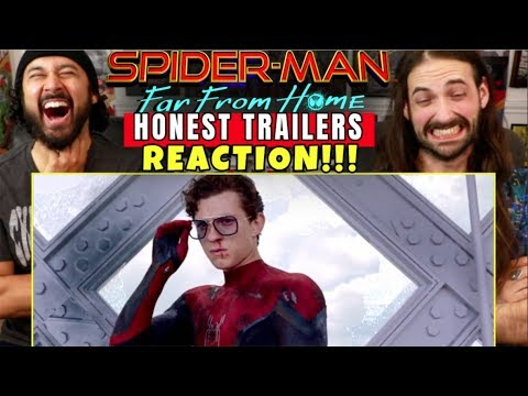 Honest Trailers | SPIDER-MAN: FAR FROM HOME - REACTION!!!