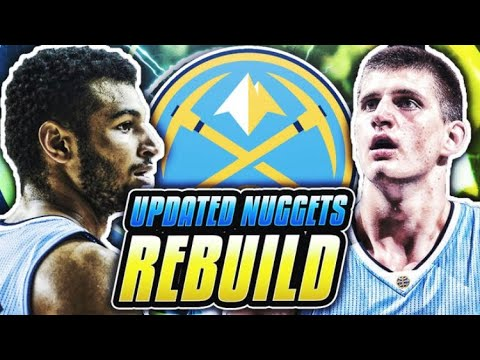 SUPER TEAM TRADE! UPDATED NUGGETS REBUILD! NBA 2K18