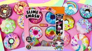 Poopsie Slime Smash Donuts Full Set Unboxing! Fun Slime Mixing Donuts