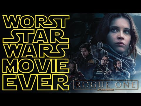 Rogue One SUCKS!?! (2nd) WORST Movie EVER?!? - Wasting Time Podcast