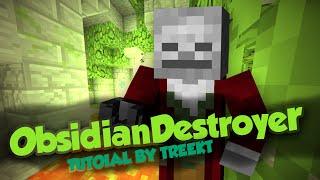 Jak używać i wgrać plugin ObsidianDestroyer na serwerze Minecraft (Bukkit)