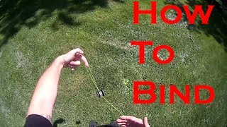 How To Bind Y๐Yo Tutorial. How to bind beginner yoyo trick tutorial.