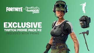 Fortnite Battle Royale: peau e oggetti del Twitch Prime Pack 2! (Gameplay ITA)