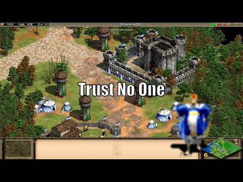 AoE2 Regicide Free For All! Trust No One!