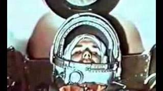 Юрий Гагарин. 12 апреля 1961 г./Yuri Gagarin. 12 april 1961(Первый космонавт планеты. Советский человек - Юрий Гагарин.