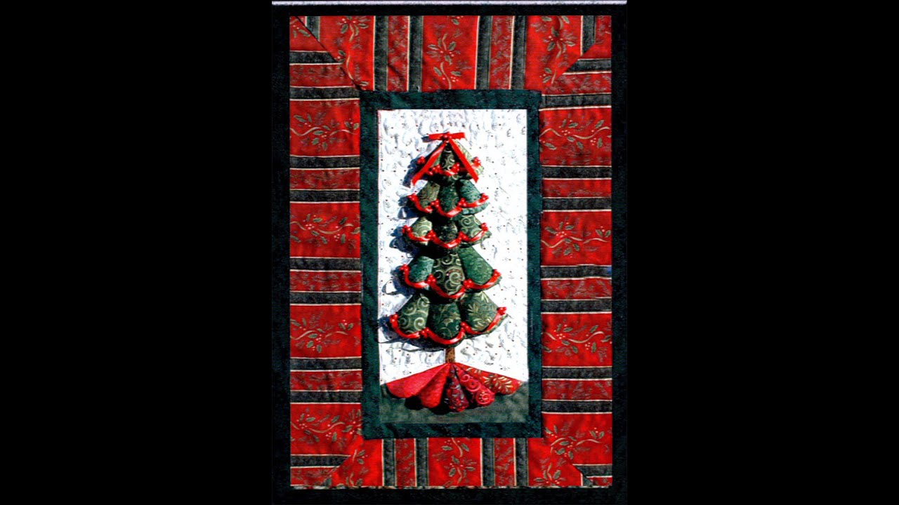 Christmas Tree Quilt Part 1 - YouTube : quilt christmas tree - Adamdwight.com