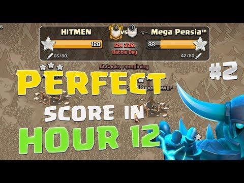 Fastest PERFECT Score In 12 Hour Clan War | Hitmen vs Mega Persia (P02)