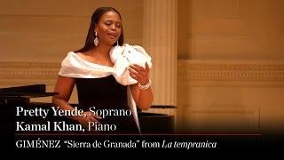 Soprano Pretty Yende Sings Jerónimo Giménez \