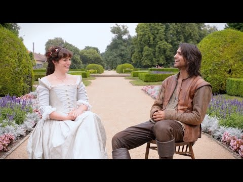 D'Artagnan and Constance  The Musketeers: Series 2  BBC One