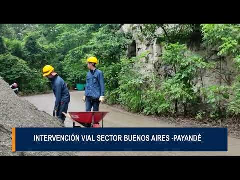 Intervención vial sector buenos aires - Payandé