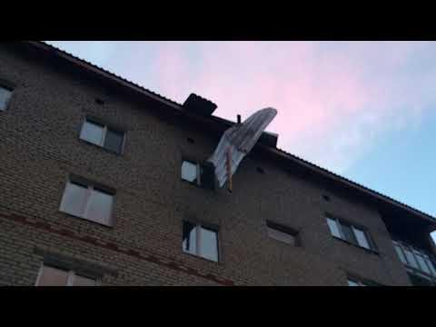 Ураган в Красновишерске и Усолье