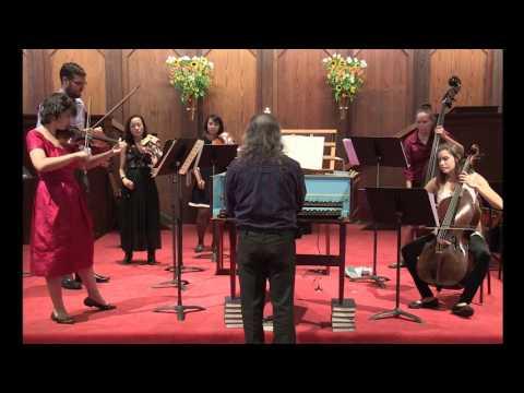 Vivaldi - The Four Seasons, Autumn, First Movement (Allegro) On Baroque Violin