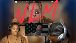 CBOW&SNAPPA react to Tom McDonald - No Lives Matter