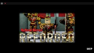 ROBLOX: Medieval Warfare Reforge - How to craft the Blue Serpent