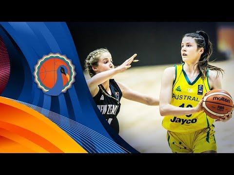 LIVE🔴 - Australia v New Zealand - FIBA U16 Women's Asian Championship 2017