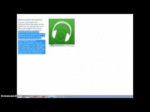 Musica de Encarta - musica africana articulo de musica africana - Microsoft encarta 2007