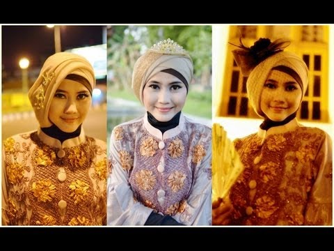 Tutorial Hijab Modern Paris | Tutorial Hijab Pesta dan ...