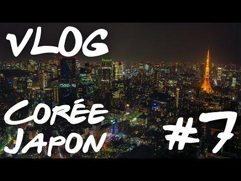 Vlog Corée - Japon #7 — Tokyo Tower, Palais Impérial, Kyoto, Gion Corner...