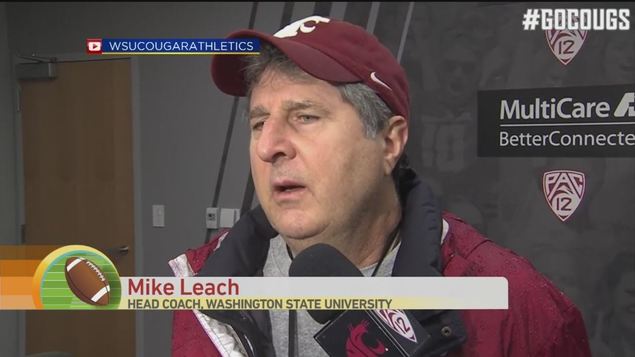 Mike Leach Wedding.Sound Bite Hall Of Fame Mike Leach Marriage