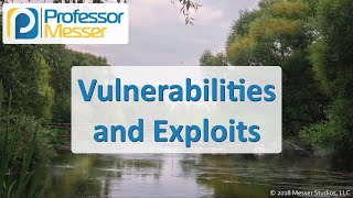 Vulnerabilities and Exploits - CompTIA Network+ N10-007 - 4.4