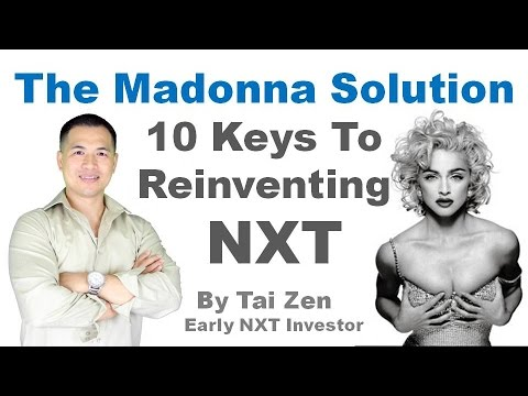 NXT For Investors #26 - The Madonna Solution - 10 Keys To Reinventing NXT (Cryptocurrency)