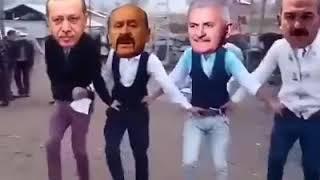 Erdoğan Halay çekiyor