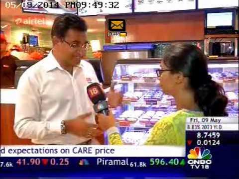 09May14 JubilantFoodWorks IndiaBusinessHour CNBCTV18 09 49pm 39sec