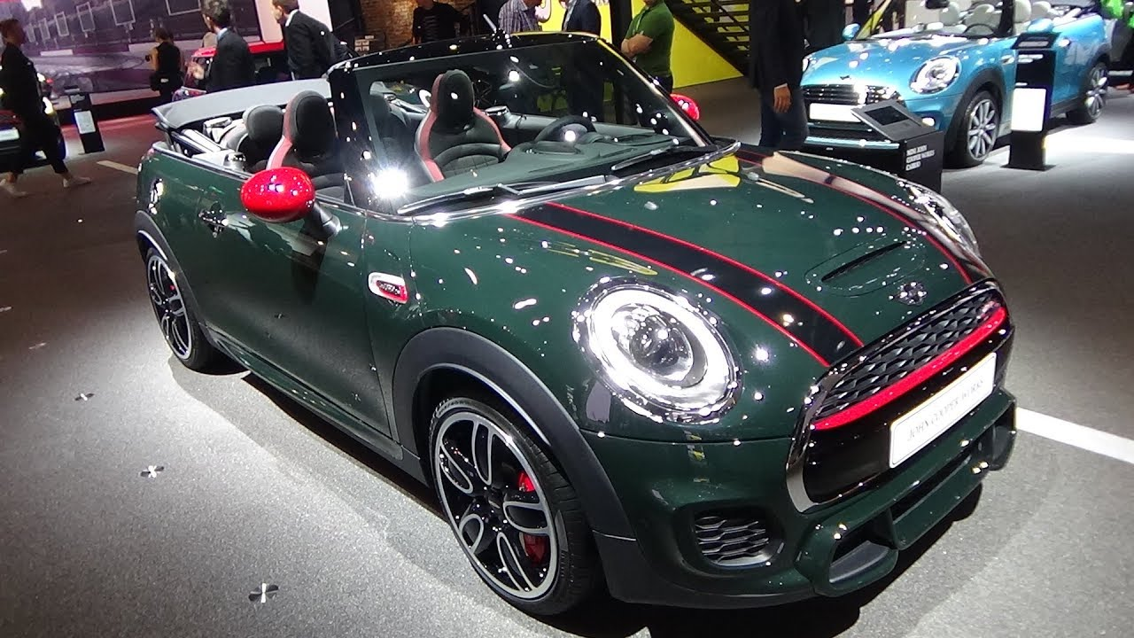 2018 mini john cooper works convertible exterior and. Black Bedroom Furniture Sets. Home Design Ideas