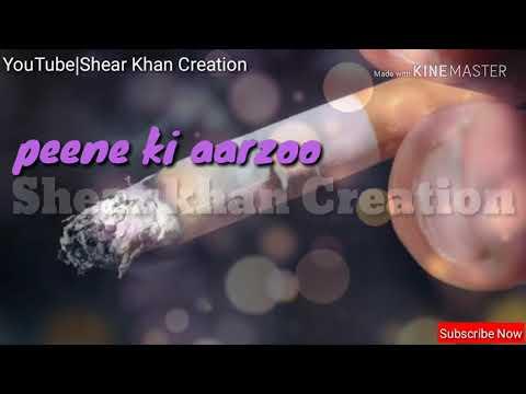 Peene Ki Aarzoo Na Pilaane Ki Aarzoo Hai || WhatsApp Status || Rahat- Fateh-ali-khan/Ghazal