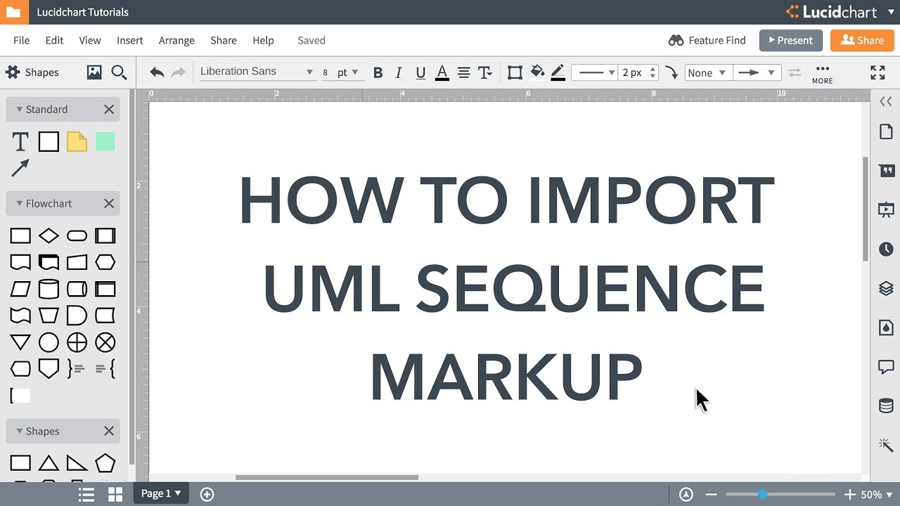 Lucidchart Tutorials Automate Uml Sequence Diagrams Youtube Timing Diagram