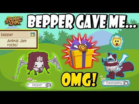 Bepper Gave Me My Best Gift Ever On Animal Jam! 🎁