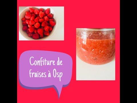 weight-watchers-recettes-confiture-de-fraise-à-0sp-!-adaptation-cookeo-également-😉