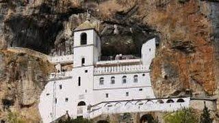 Монастырь Острог - неизведанная Черногория (Montenegro)(Действующий сербский православный монастырь в Черногории, расположенный в горах в 15 км от города Даниловгр..., 2016-08-12T05:00:01.000Z)