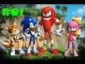 Sonic Boom Rise Of Lyric Прохождение 01 Wii U mp3