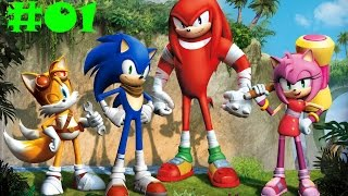 Sonic Boom: Rise of Lyric - Прохождение #01 (Wii U)