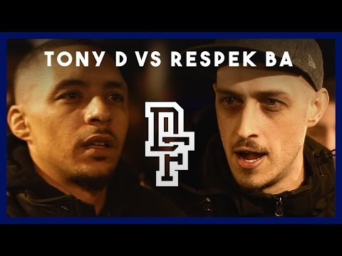 TONY D VS RESPEK BA | Don't Flop Rap Battle