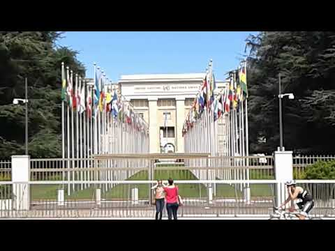 United Nations (Palais Des Nations) in Geneva  Switzerland