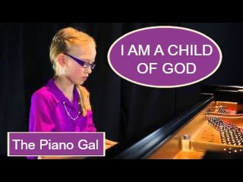 I Am a Child of God - Marvin Goldstein - The Piano Gal   Sara Arkell