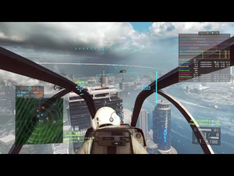 Battlefield 4™   ATTACK CHOPPER GAMEPLAY  SIEGE OF SHANGHAI    U.S SIDE