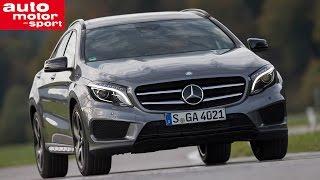 Fahrbericht Mercedes GLA 250 4Matic Video