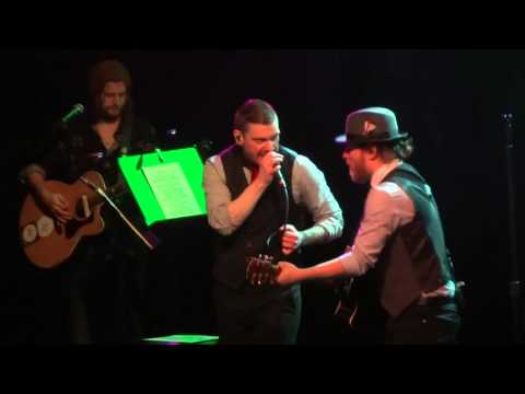 """""""In the Air Tonight (Phil Collins)"""" Smith & Myers Shinedown@TLA Philadelphia 12/10/15 Acoustic Tour"""