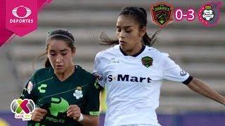 Santos saca cómo victoria | Juárez 0 - 3 Santos | Liga MX Femenil -  Ap19 J2 | Televisa Deportes