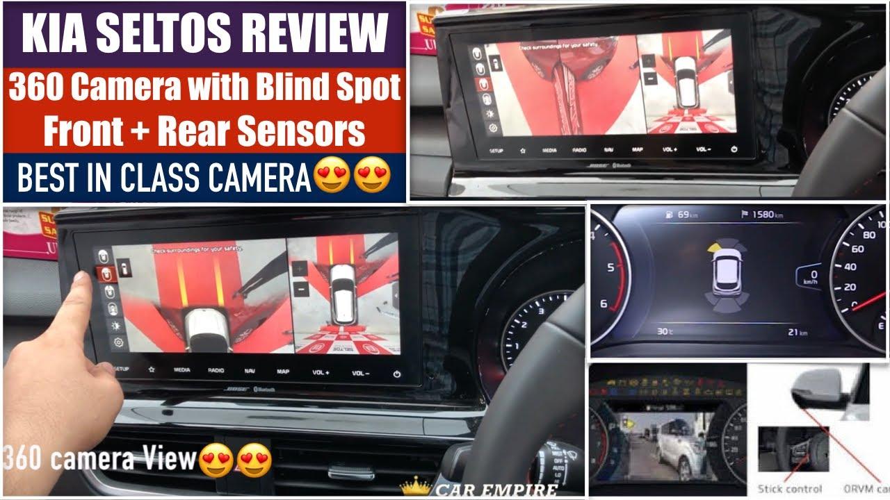 Kia Seltos 360 Degree Camera Working Explained Seltos 360 Degree Camera View Seltos 1 4 Gt Top Youtube