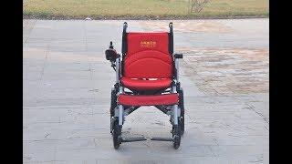 видео Электрическая инвалидная кресло-коляска (скутер) Vermeiren Mercurius 4