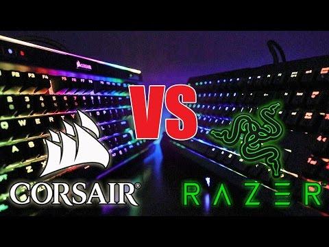 Corsair K95 Platinum VS Razer Blackwidow Chroma V2 Comparison Which is the Best?