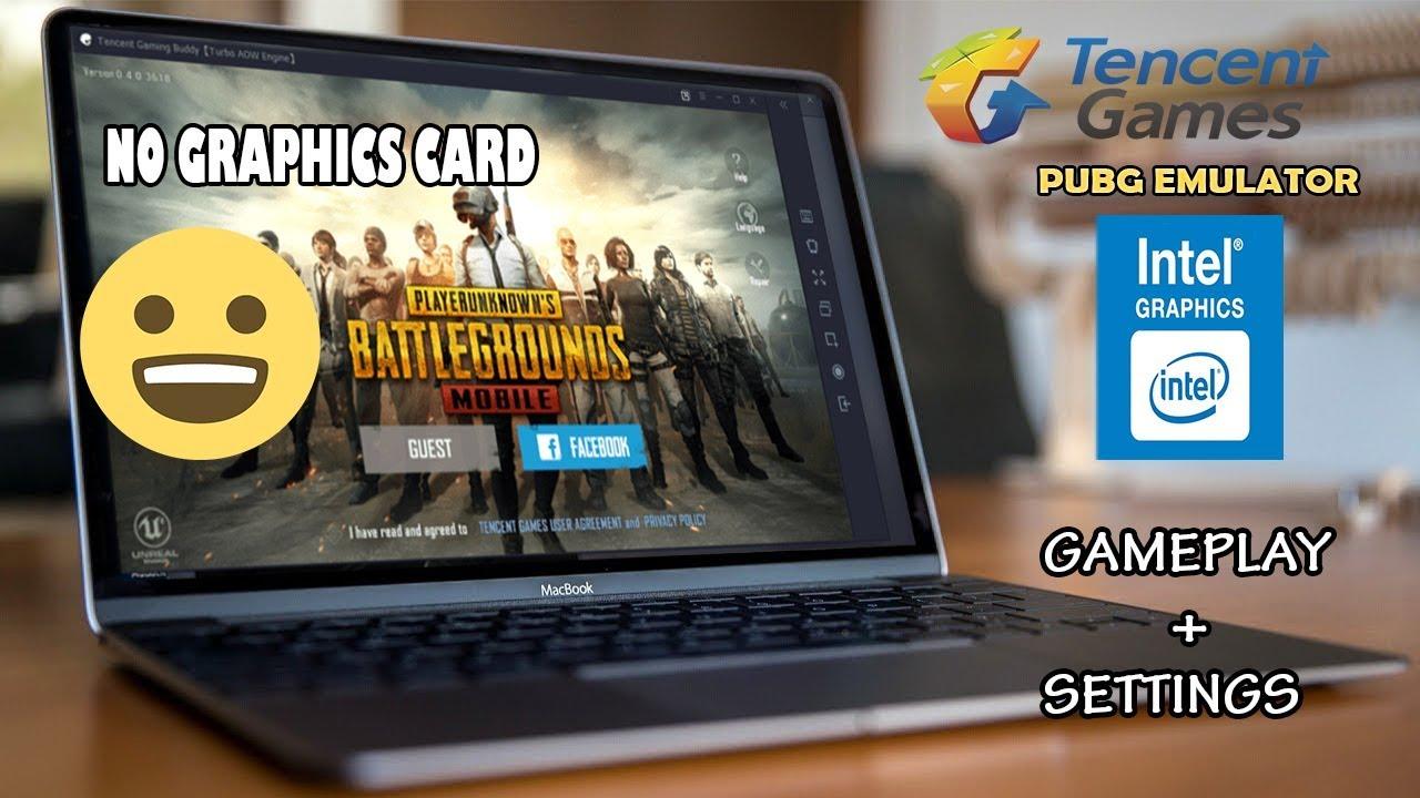 pubg mobile pc emulator intel hd graphics gameplay | low