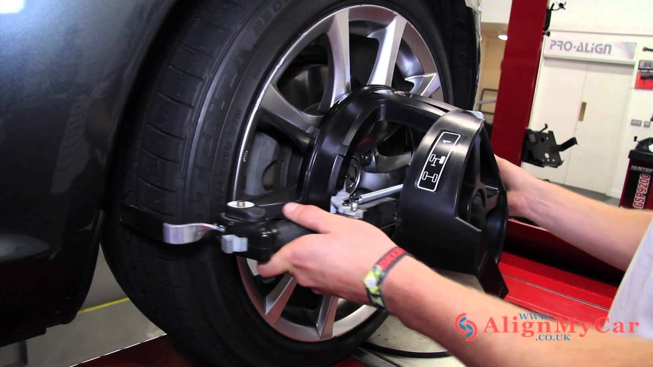 Wheel alignment wheels: step by step instructions 96