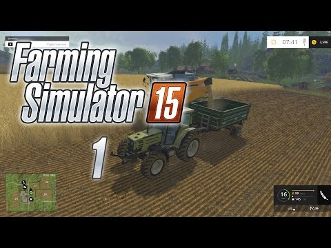 Let's Play Farming Simulator 15 Gameplay | Walkthrough Episode 1: Learning How To Run A Farm