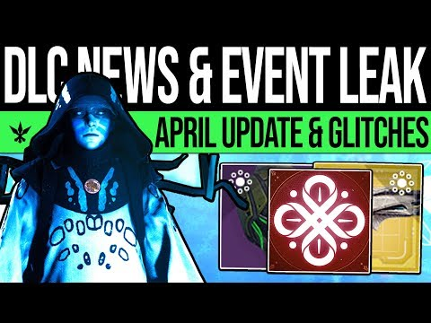 Destiny 2 | NEWS UPDATE & EVENT LEAK! Huge Glitch, April Update, Catalysts, Season 7 & Core Changes! thumbnail